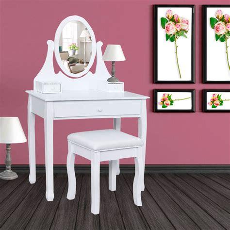 tabouret pour coiffeuse chambre fabulous coiffeuse table de maquillage en bois avec miroir