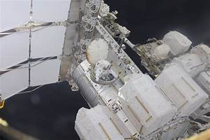 ISS Astronauts work Overtime in challenging Maintenance ...