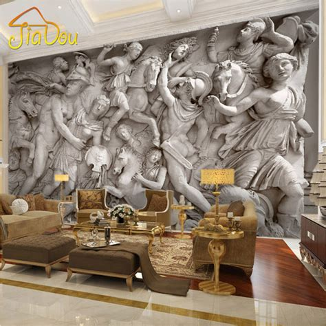 Living Room Restaurant Rome by Wallmural Wall Mural Ideas For Living Room