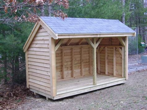 firewood wood shed plans       great