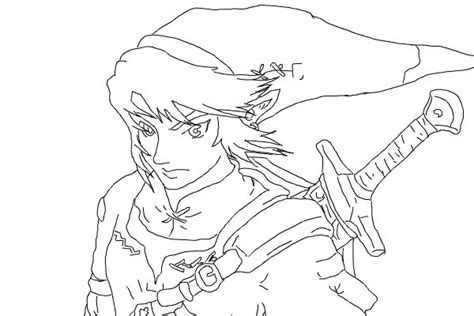zelda  anime speedpaint drawing  kathilyssa queeky