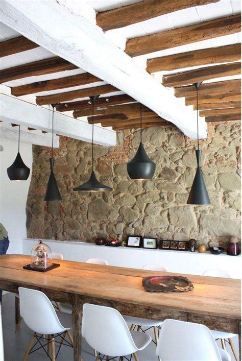 decoracion  vigas de madera vistas el blog de plan