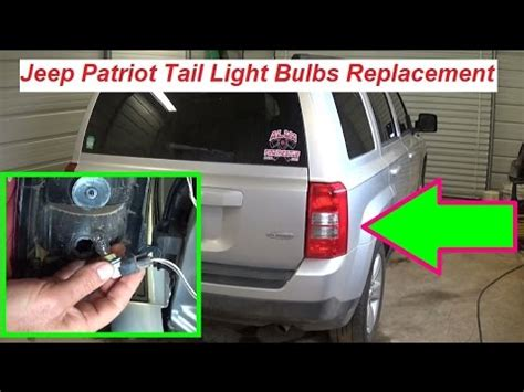 jeep patriot light replacement light bulbs