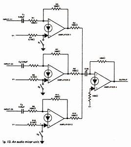 audio mixer circuit page 3 audio circuits nextgr With simple mixer