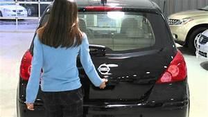 2012 Nissan Versa Hatchback - Hatch Release