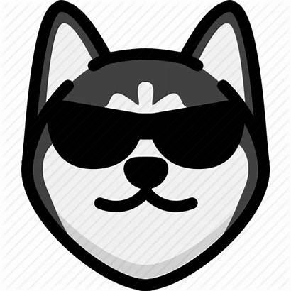 Cool Emoji Icon Dog Face Emotion Feeling