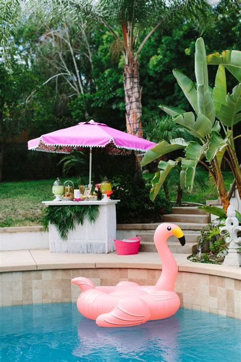 aloha themed bridal shower  layer cake tropical