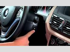 BMW X1 Steering Wheel Heating Control YouTube