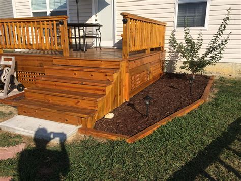 deck  cabot gold stain    deck stain