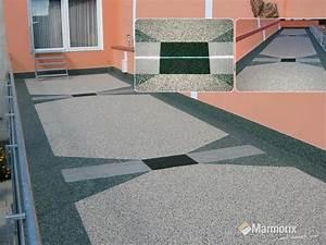 Boden Für Terrasse : marmorix steinteppich verlegebeispiele individuelle ~ Michelbontemps.com Haus und Dekorationen