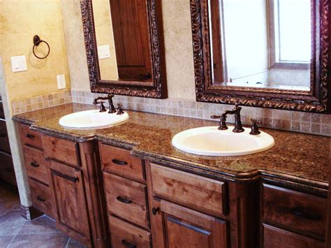 Solid Granite Surface Vanity Tops