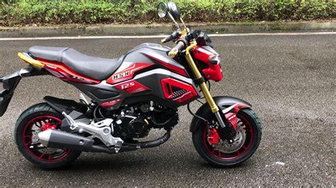 Msx 125 Monkey Bike 125cc Pocket Bike Mini Moto With
