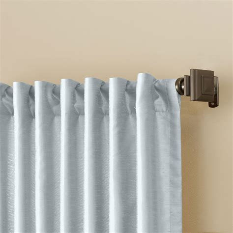window curtain rods curtains and drapes buying guide
