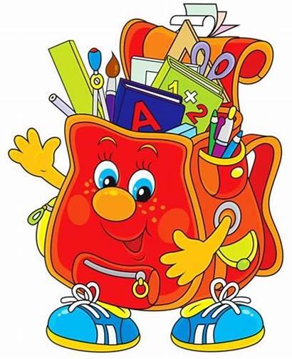 Supplies Clipart Clip Supply Cartoon Schools Classroom