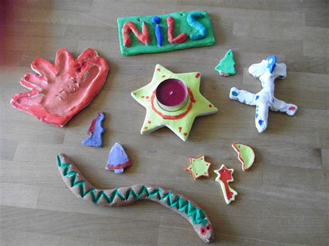 salzteig kindergarten ideen basteln