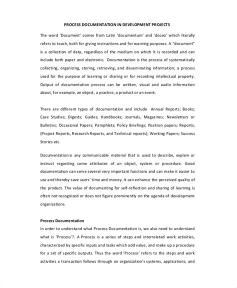 project documentation template 18 project documentation templates free sle exle format free premium templates
