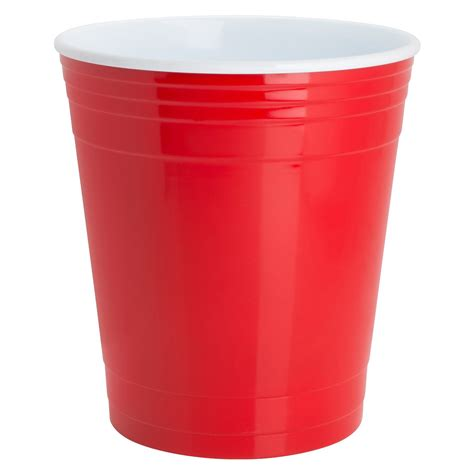 red party cup waste basket the green head