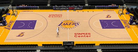 nba  lakers staples center court patch  versions