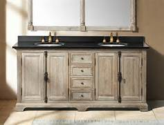 Double Sink Vanity Tops For Bathrooms by 71 Antique Chic Double Bath Vanity Light Muddy Grey Traditional B