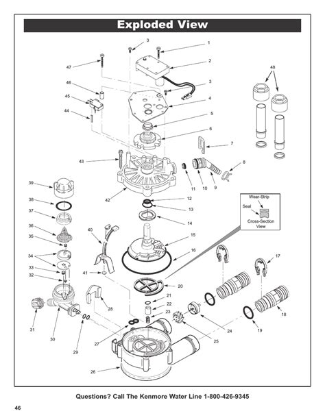 kenmore series intellisoft exploded manual