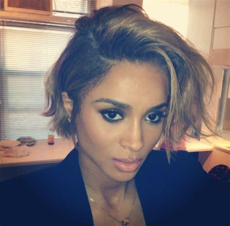 Ciara New Hairstyle by Ciara New Haircut 2013