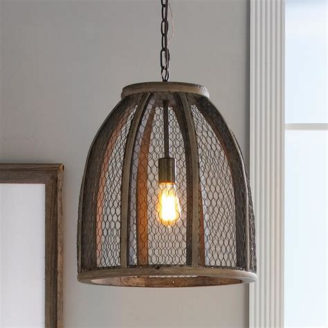 large chicken wire pendant pendant lighting by shades