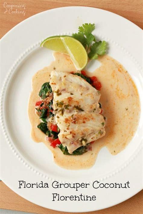 grouper recipes fish florida florentine corvina basa recipe coconut seafood cobia baked fresh fryer air dishes canned ga qa
