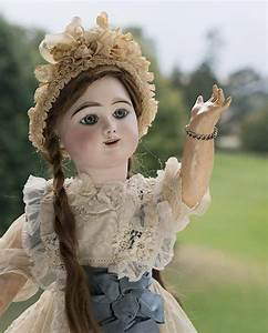 24quot Very Beautiful French Bisque Eden Bebe Doll By