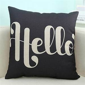 wholesale wholesale letter printed sofa cushion pillow With cheap letter pillows