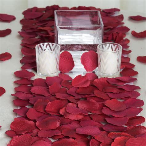 silk rose petals wedding decorations favors wholesale