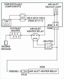 Cat 3126 Intake Heater Wiring Diagram Wiring Diagram