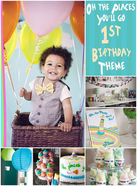 1st birthday party ideas for boys you will to dr seuss oh the places you 39 ll go party birthday