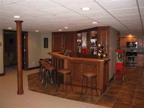 Basement Bar by Setting Up A Basement Bar 2405 Interior Ideas