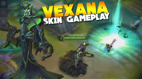 Vexana New Skin Gameplay Toxic Kiss Mobile Legends