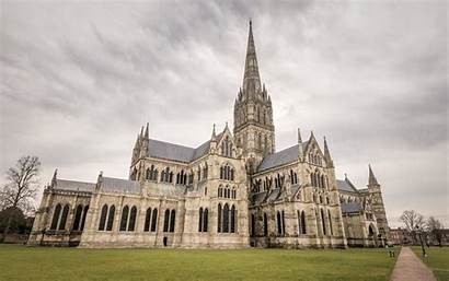 Salisbury Cathedral Tourist England Place