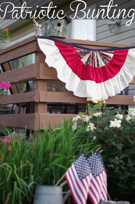 patriotic outdoor decorations outdoor 4th of july decor the garden glove