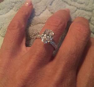 wedding band to go with oval engagement ring With big oval wedding rings