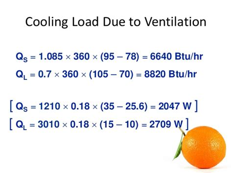 exhaust fan cfm calculation formula hvac load calculation