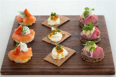 cuisine canapé the best canapé recipes for your festive gathering