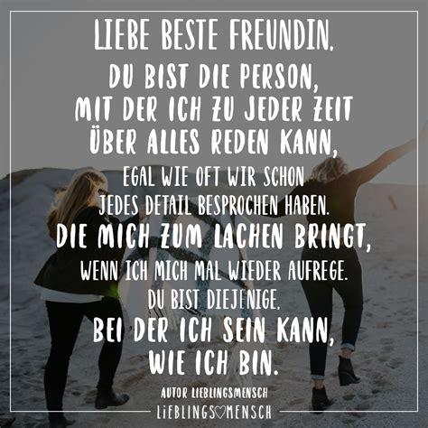 liebe beste freundin du bist die person mit der ich zu