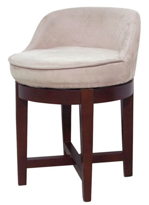 Vanity Chairs For Bathroom by New Bathroom Vanity Swivel Chair Stool Low Profile Padded