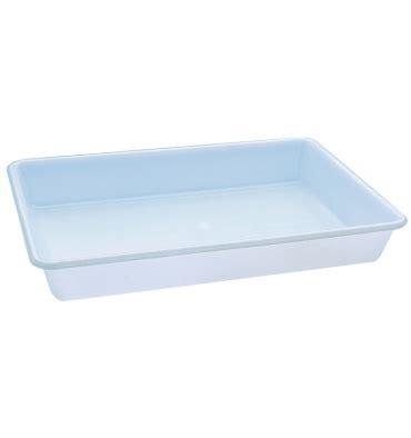 bac à plat bac rectangulaire plat plastique 10 litres 1000 mat