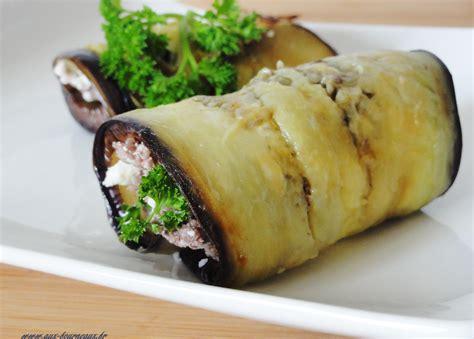 poele pour cuisiner roulade d 39 aubergine farcie à la viande de cuisine