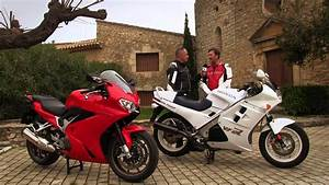 Motos Garage Tv  Honda Vfr 800 F Vs  Vfr 750f
