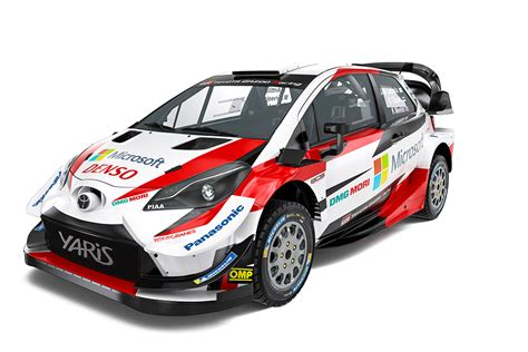 World Of Toyota by Toyota Gazoo Racing World Rally Team Launches 2019
