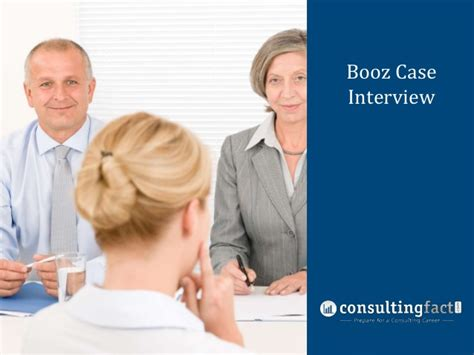 interview case booz case interview