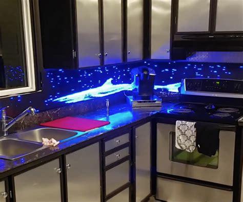 designer tiles for kitchen backsplash lixie digital display the awesomer