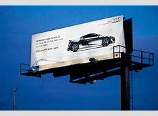 Audi R8 GT Billboard Warns Locals » AutoGuidecom News