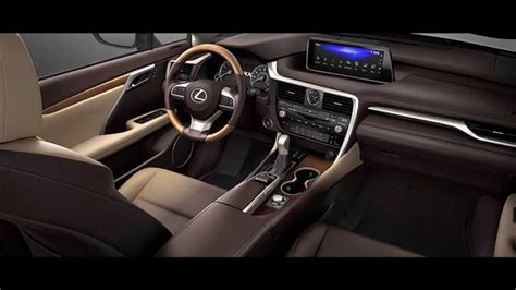 lexus rx red interior 2016 lexus rx 350 interior youtube