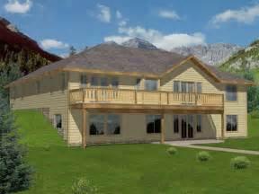 hillside home designs unique hillside home plans 7 lake house plans with walkout basement newsonair org